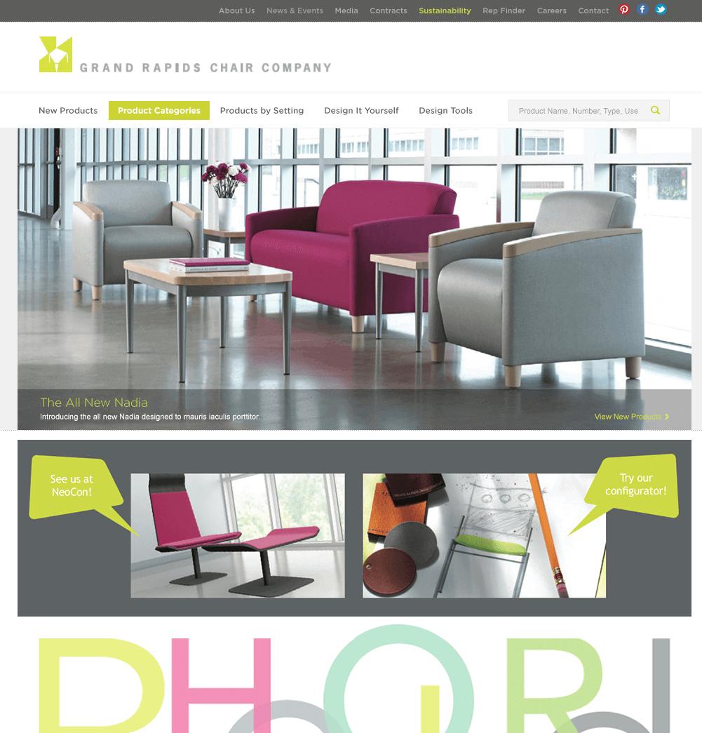 Grand Rapids Chair   Kmotion Design Inc